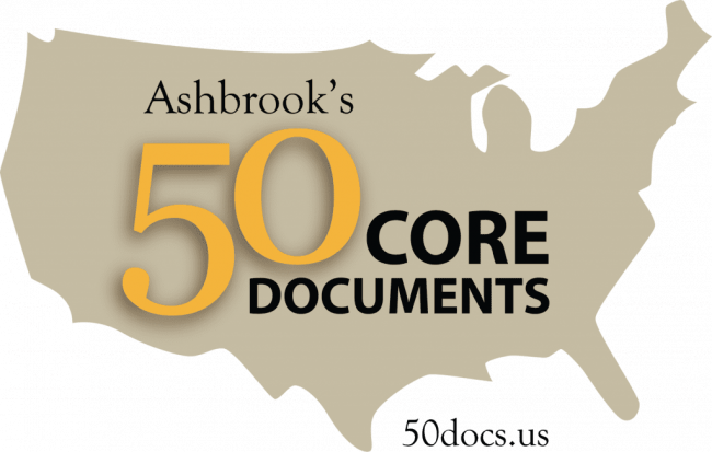 Ashbrook's 50 Core Documents